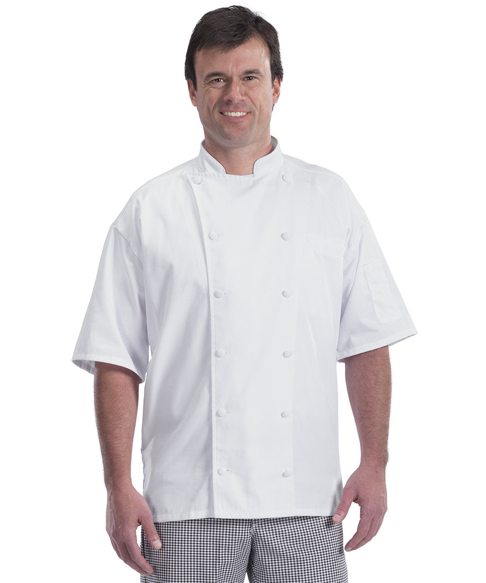 2c0c736b8 Lightweight Vented Mesh Back Chef Coats