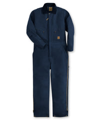 Navy Blue Berne® Insulated Coveralls Shown in UniFirst Uniform Rental Service Catalog