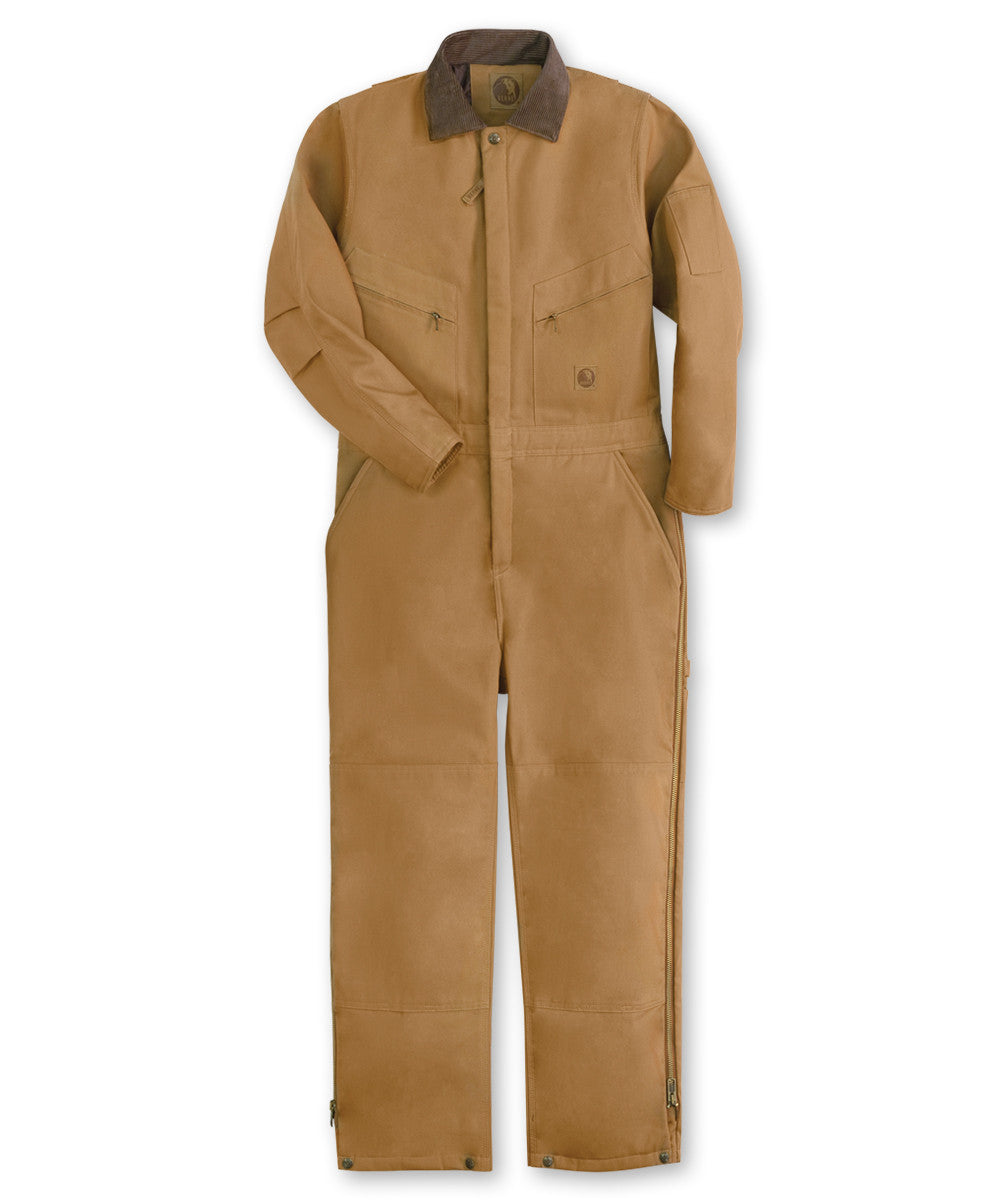 Brown Duck Berne® Insulated Coveralls Shown in UniFirst Uniform Rental Service Catalog