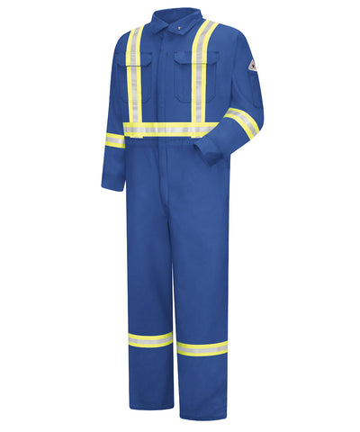 Flame Resistant Enhanced Visibility Coveralls