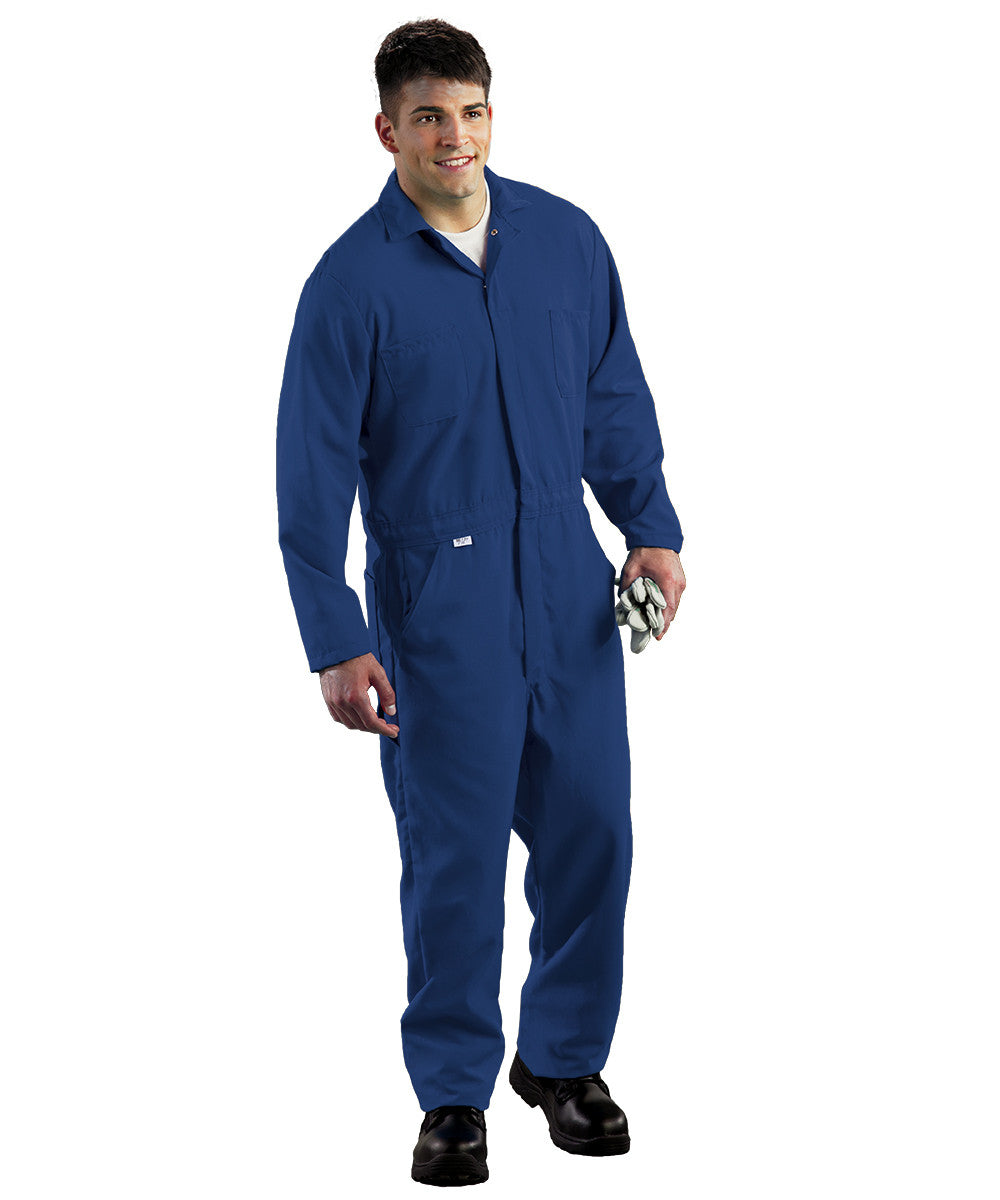 Royal Blue Armorex FR® Arc Rated Flame Resistant Coveralls Shown in UniFirst Uniform Rental Service Catalog
