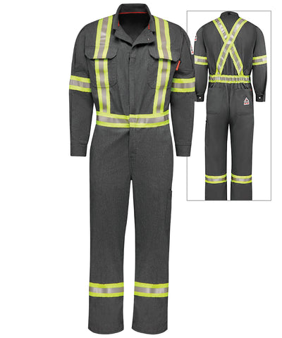 Bulwark® iQ Series® FR Coveralls with Reflective Trim (Canada)