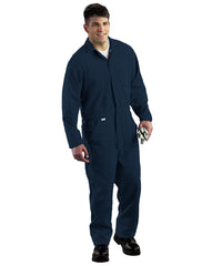 Navy Blue Armorex FR® Arc Rated Flame Resistant Coveralls  Shown in UniFirst Uniform Rental Service Catalog