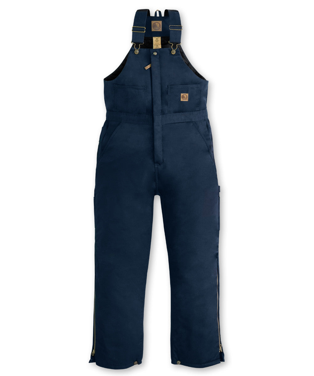 Navy Blue Berne® Insulated Bib Overalls Shown in UniFirst Uniform Rental Service Catalog