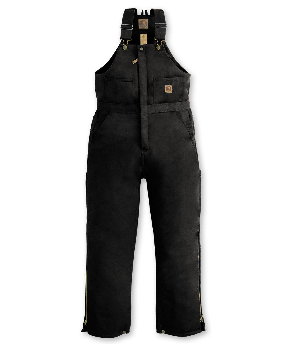 Black Berne® Insulated Bib Overalls Shown in UniFirst Uniform Rental Service Catalog