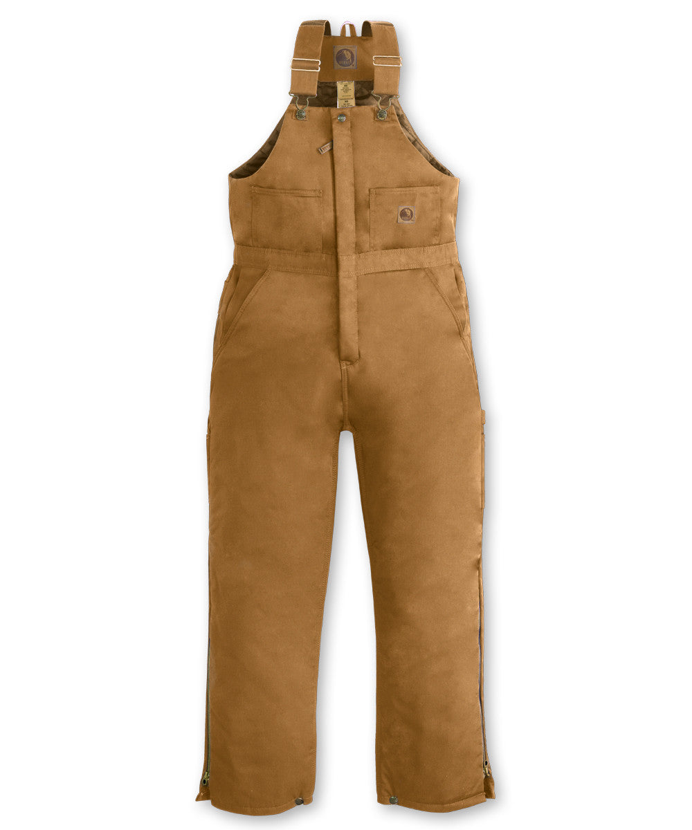 Brown Duck Berne® Insulated Bib Overalls Shown in UniFirst Uniform Rental Service Catalog