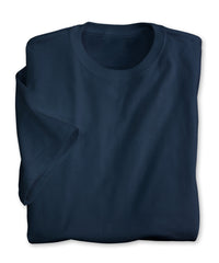 Navy Blue Moisture Management T-Shirts Shown in UniFirst Uniform Rental Service Catalog