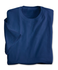 Royal Blue Moisture Management T-Shirts Shown in UniFirst Uniform Rental Service Catalog