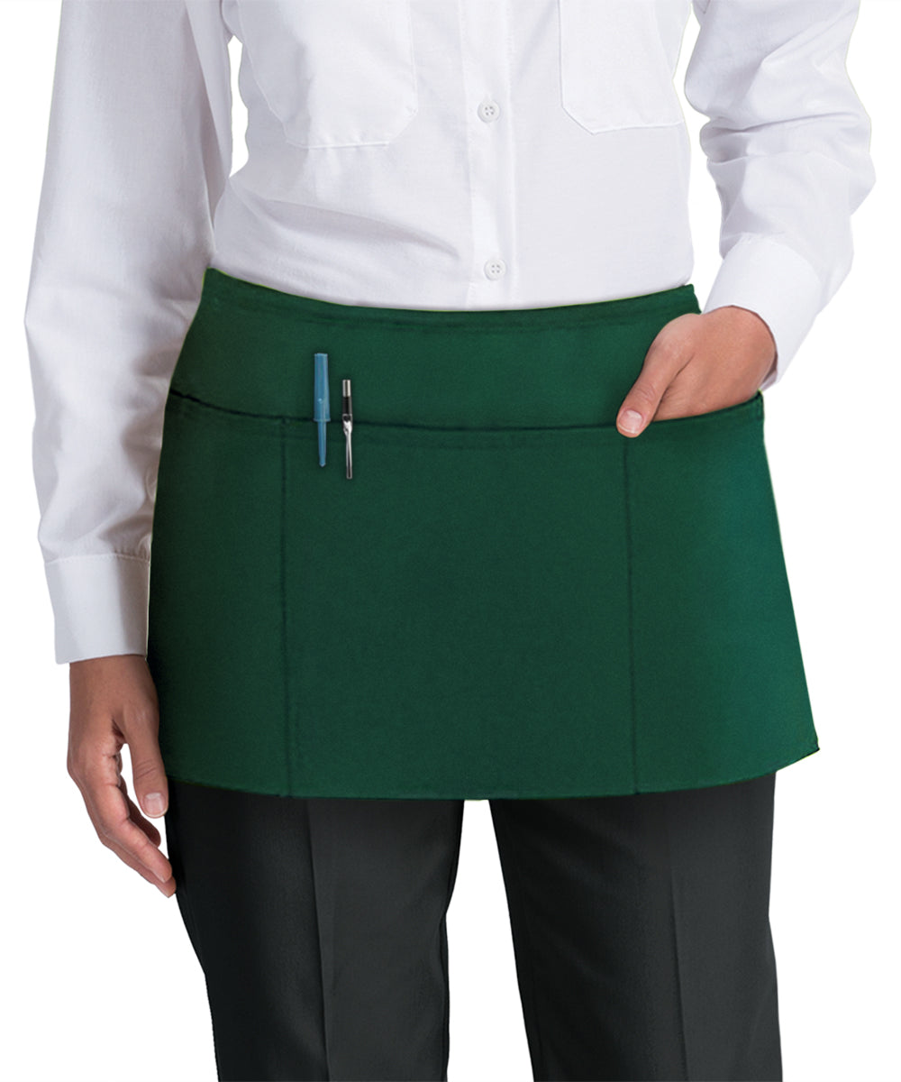 Waist Aprons (Forest Green) as Shown in the UniFirst Uniform Rental Catalog