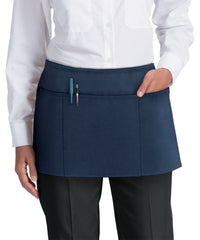 Waist Aprons (Navy) as Shown in the UniFirst Uniform Rental Catalog