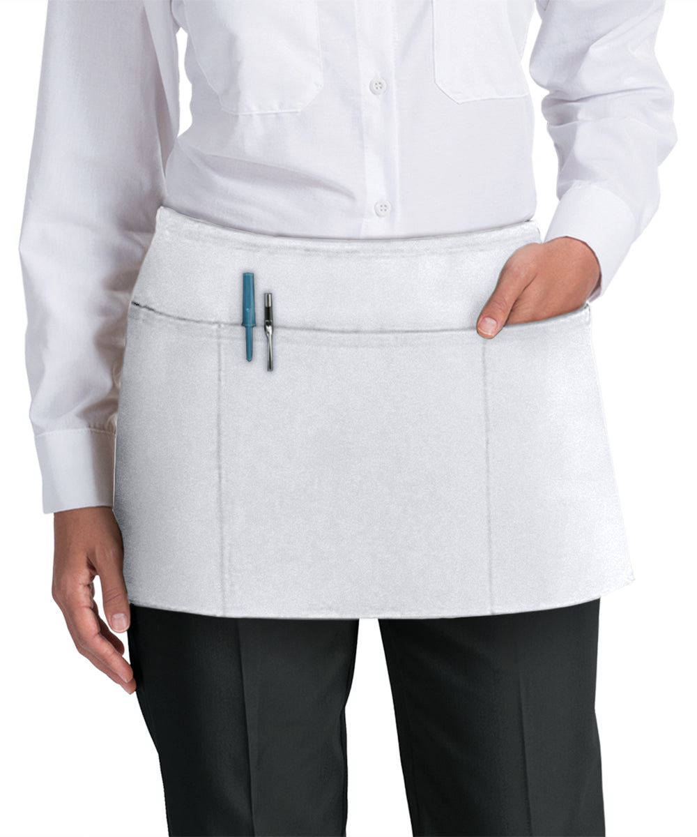 Waist Aprons (White) as Shown in the UniFirst Uniform Rental Catalog
