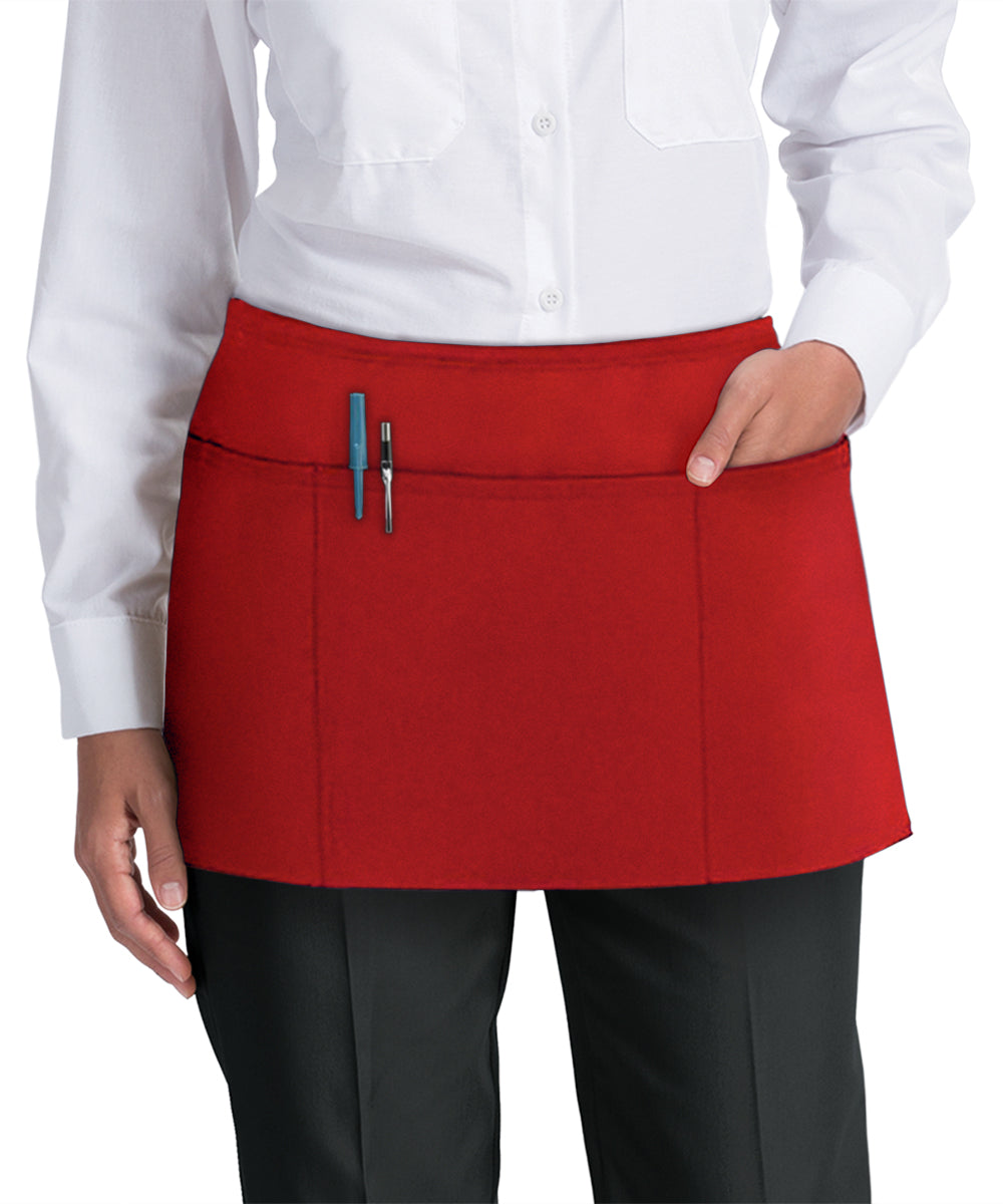 Waist Aprons (Red) as Shown in the UniFirst Uniform Rental Catalog