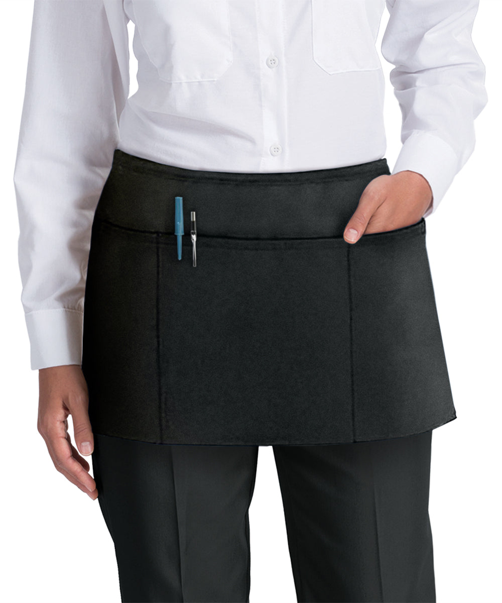 Waist Aprons (Black) as Shown in the UniFirst Uniform Rental Catalog