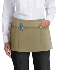 Waist Aprons (Khaki) as Shown in the UniFirst Uniform Rental Catalog