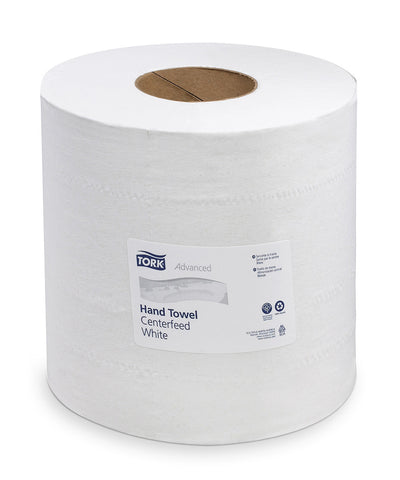 Tork Advanced Soft Centerfeed Hand Towels – Roll (White)