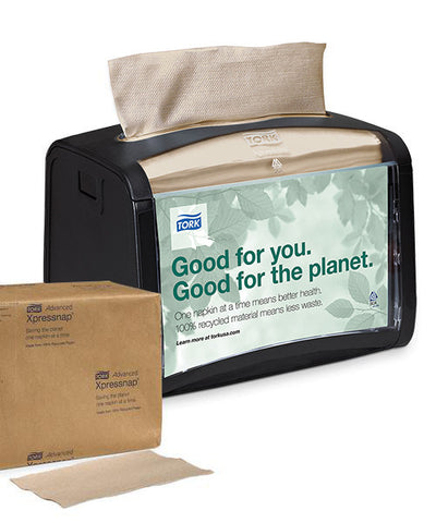 Tork® Advanced Xpressnap Tabletop Napkin System