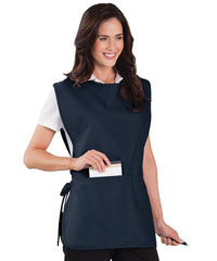 Navy Blue Unisex Cobbler Aprons Shown in UniFirst Uniform Rental Service Catalog