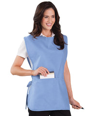 Light Blue Unisex Cobbler Aprons Shown in UniFirst Uniform Rental Service Catalog