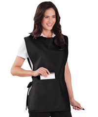 Black Unisex Cobbler Aprons Shown in UniFirst Uniform Rental Service Catalog