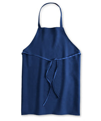 Royal Blue Unisex Knee Length Bib Aprons Shown in UniFirst Uniform Rental Service Catalog