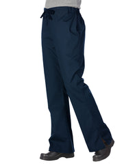 Navy Blue Women's Flair Scrub Pants Shown in UniFirst Uniform Rental Service Catalog