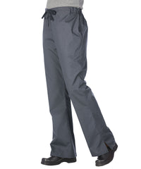 Pewter Women's Flair Scrub Pants Shown in UniFirst Uniform Rental Service Catalog