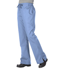 Ciel Blue Women's Flair Scrub Pants Shown in UniFirst Uniform Rental Service Catalog