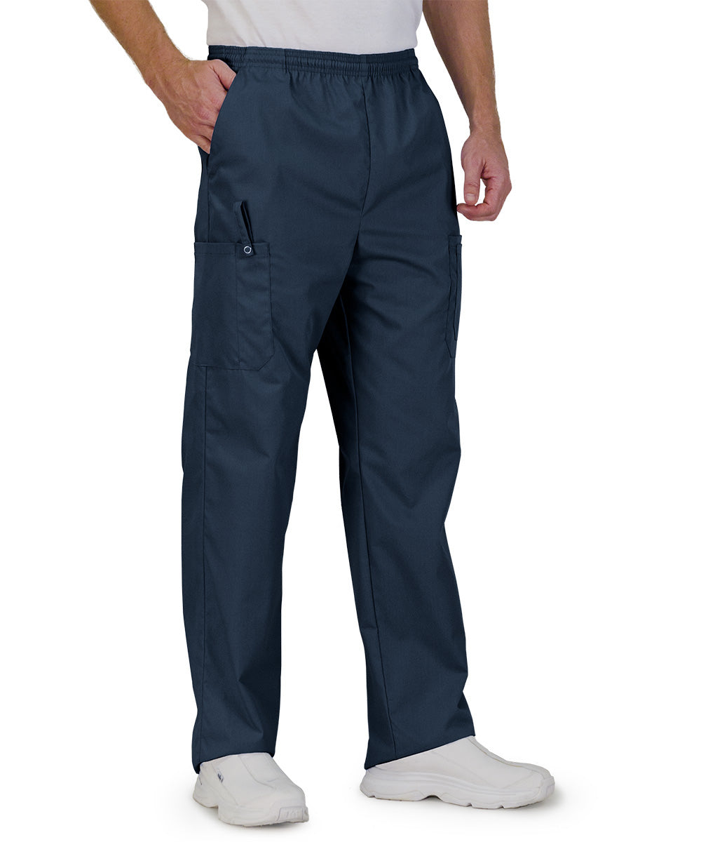 Navy Blue Unisex Ultimate Cargo Pants  Shown in UniFirst Uniform Rental Service Catalog