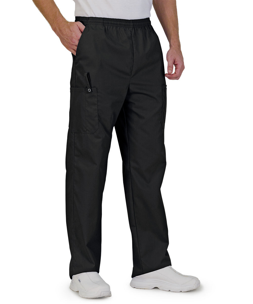 Black Unisex Ultimate Cargo Pants  Shown in UniFirst Uniform Rental Service Catalog