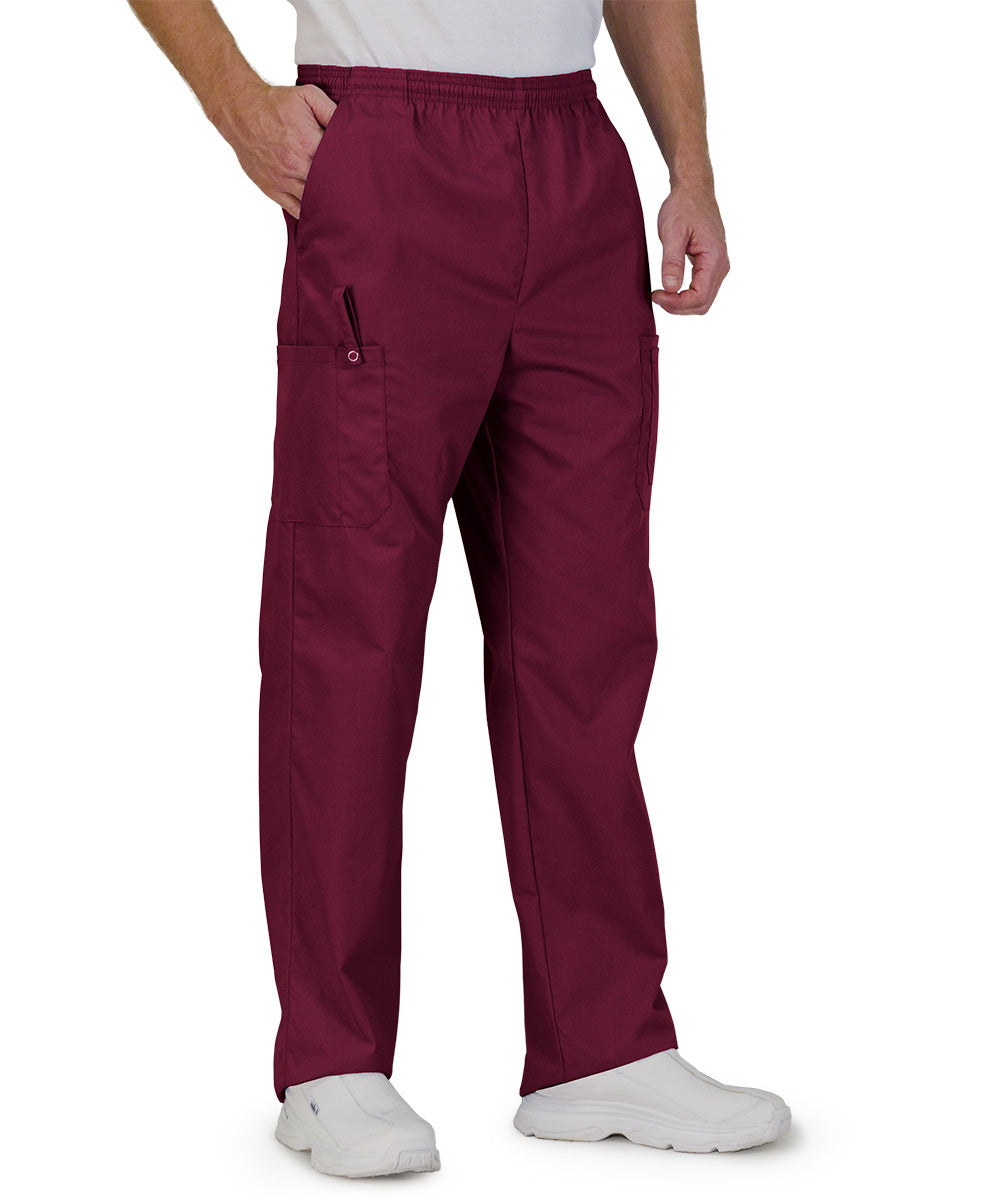 Burgundy Unisex Ultimate Cargo Pants  Shown in UniFirst Uniform Rental Service Catalog