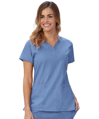 Women's V-Neck Scrub Tunics
