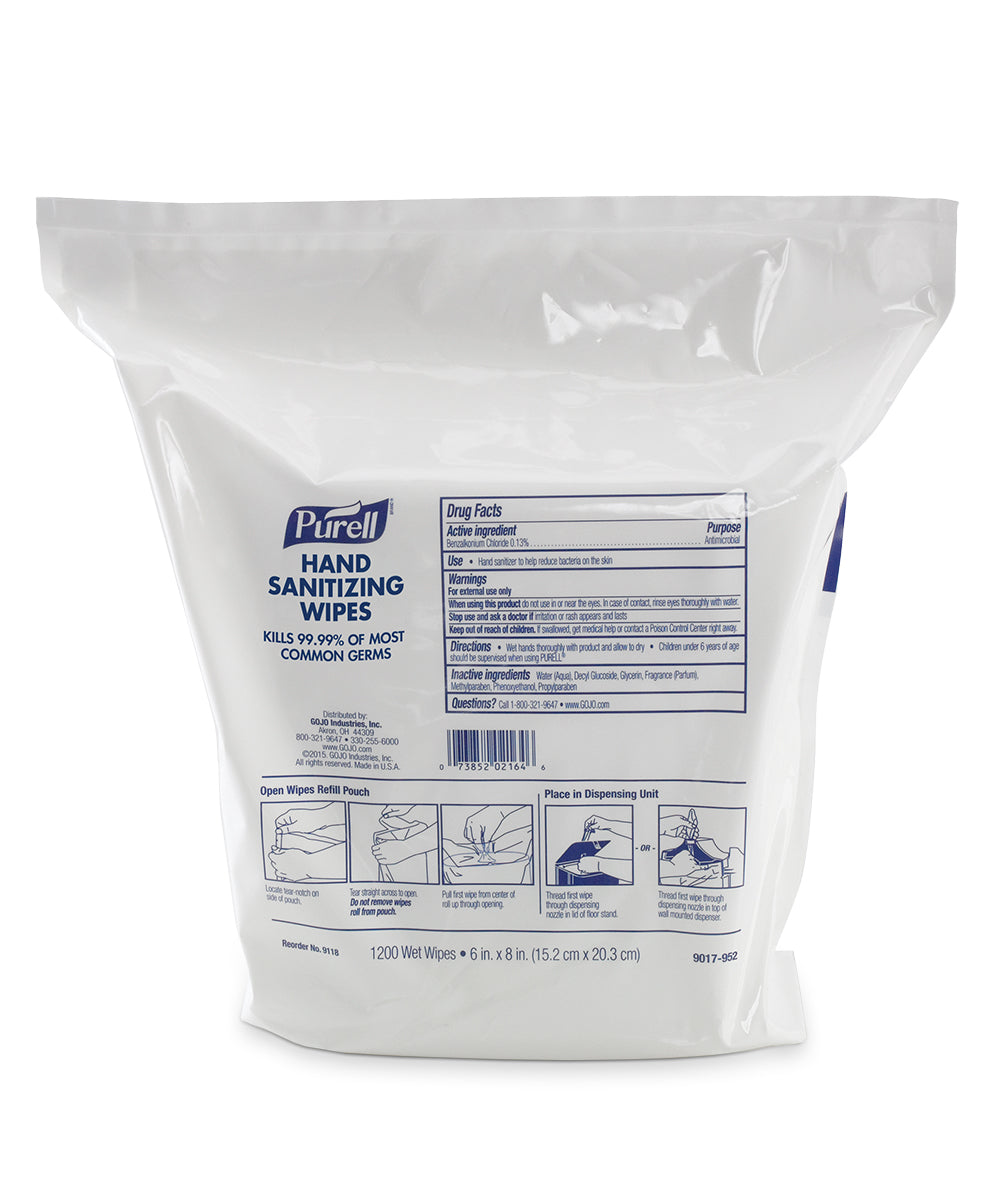 PURELL® Hand Sanitizing Wipes (1200 Count)