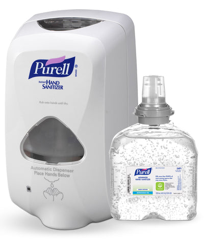 PURELL® Advanced Hand Sanitizer Green Certified Gel (1200 mL Touchless)