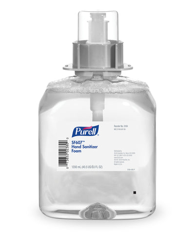 PURELL® SF607™ Hand Sanitizer Foam Non-Alcohol Formula (1200 mL) as shown in the UniFirst Facility Services Catalog