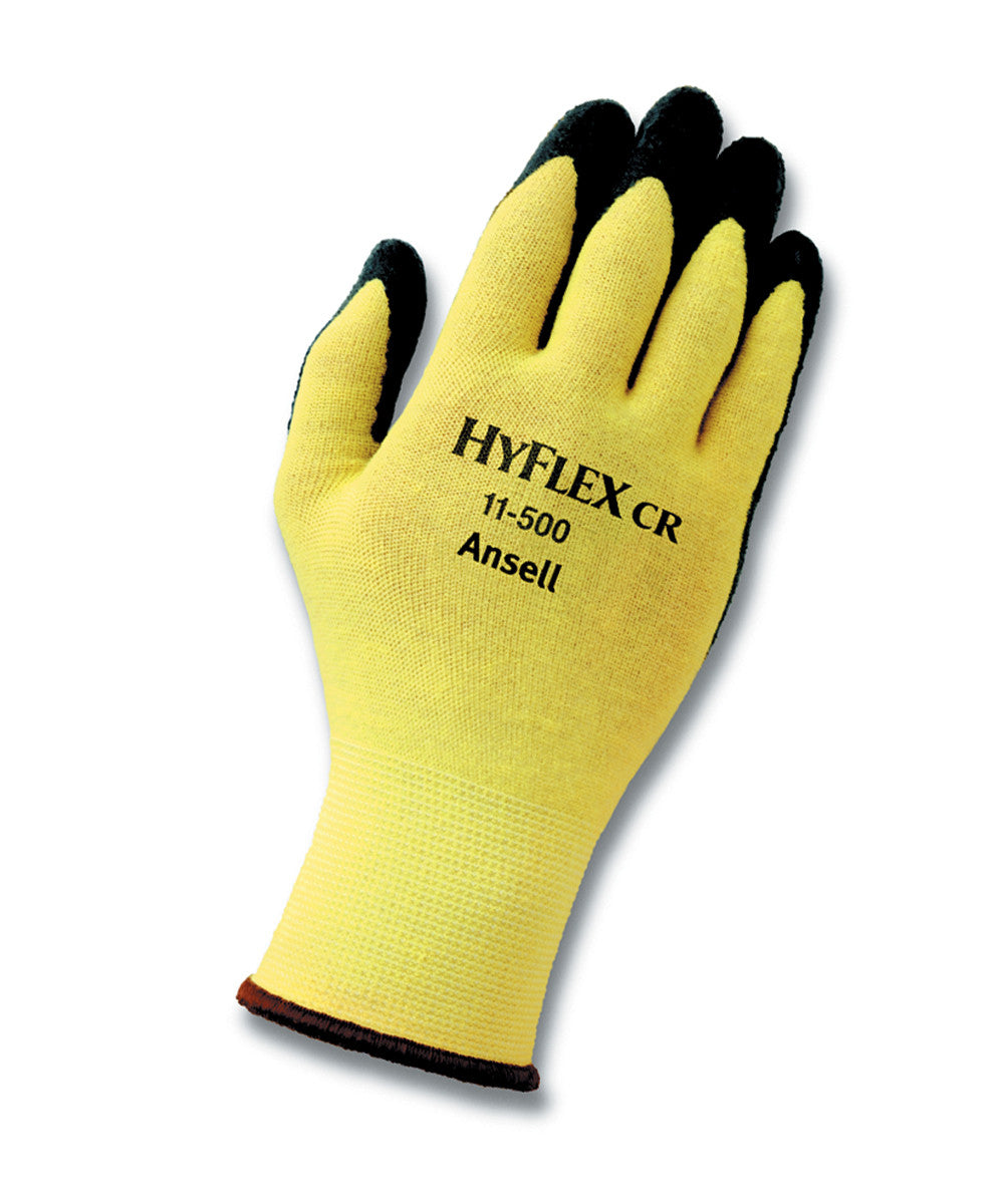 Ansell HyFlex® Kevlar® Gloves as shown in the UniFirst Safety Products & PPE catalog.