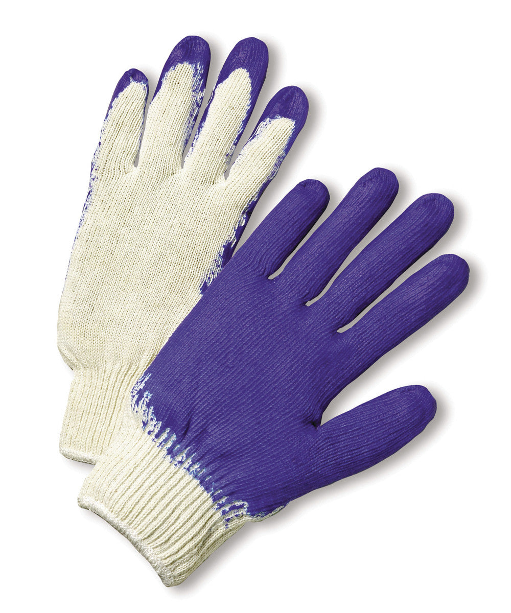 West Chester Coated String Knit Gloves as shown in the UniFirst Safety Products & PPE catalog.