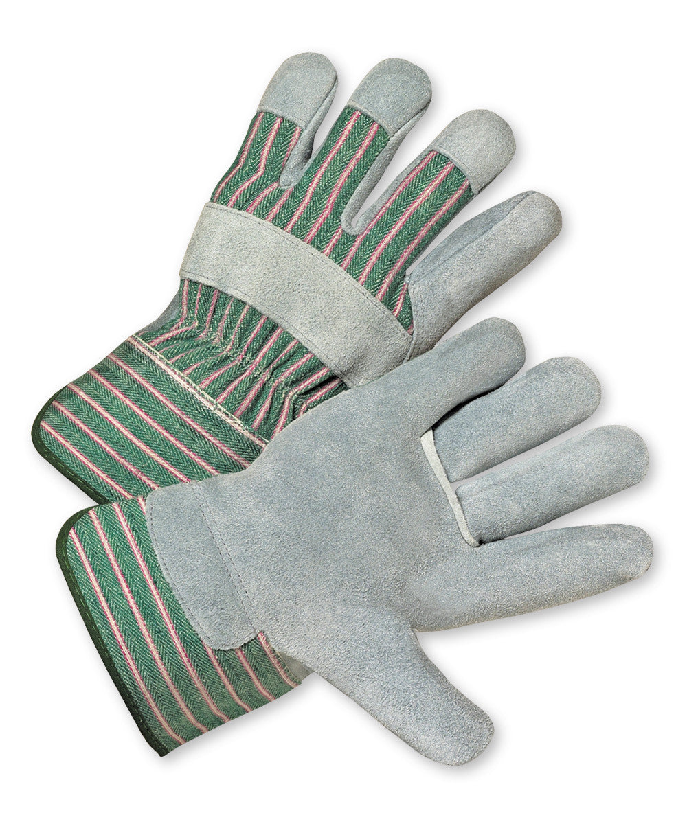 West Chester Cowhide Palm Gloves as shown in the UniFirst Safety Products & PPE catalog.