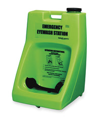 Emergency Eyewash Stations as shown in the UniFirst Safety Products & PPE catalog.