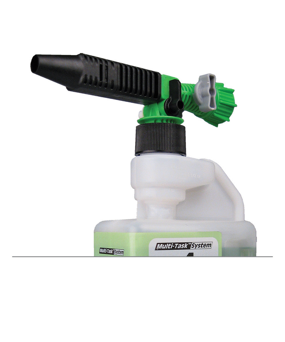 Wall-Mounted Cleaning Solutions Dispensing System