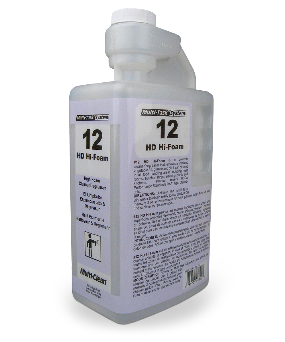 HD Hi-Foam Degreaser Concentrate refill as shown in the UniFirst Facility Services catalog.