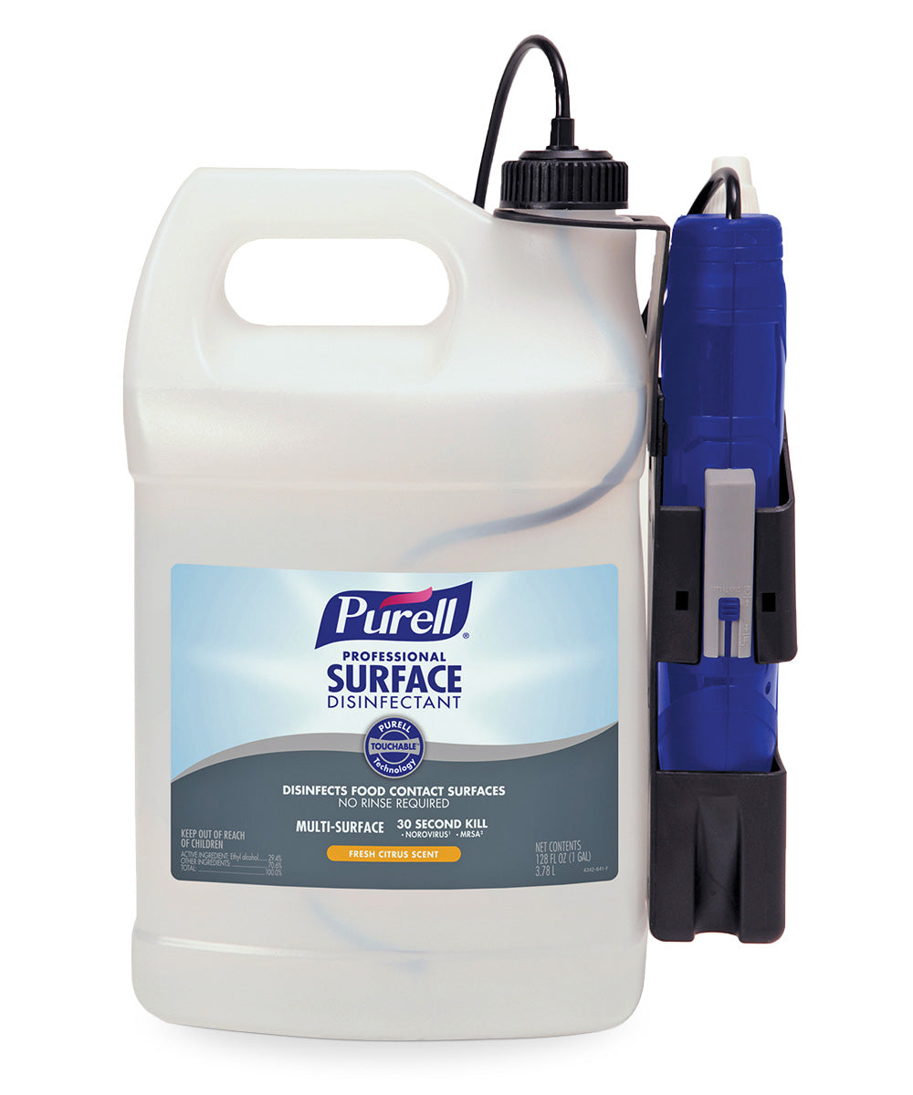 PURELL® Surface Sanitizer and Disinfectant Sprayer System as shown in the UniFirst Facility Services catalog.