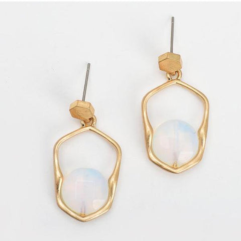 Frost Geometric Earrings