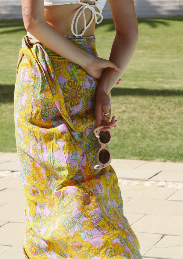 woodstock sarong wrap skirt