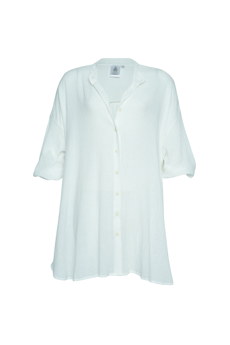 White Bingin Oversized Shirt