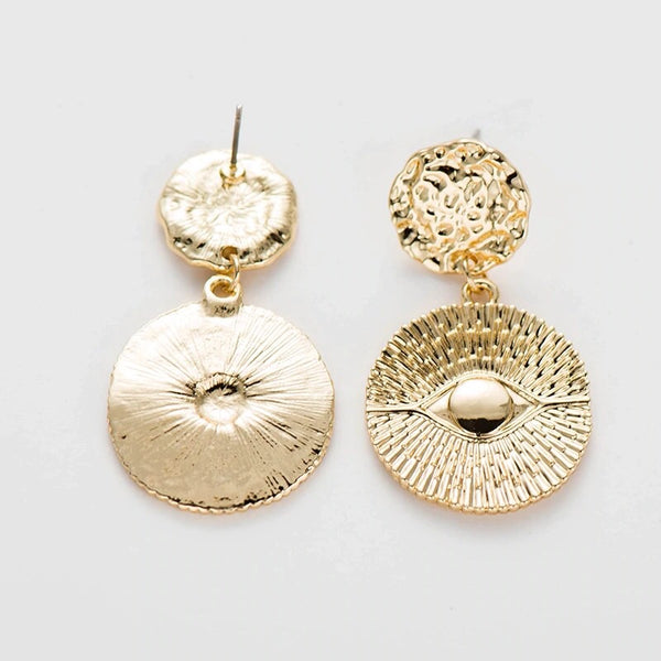 Turkish Eye Drop Earrings