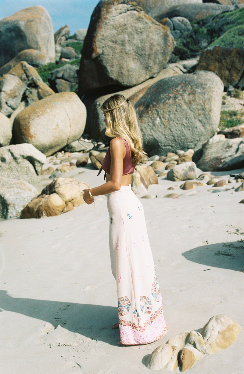 Silk Road Maxi Skirt