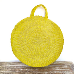 Yellow Round Bag