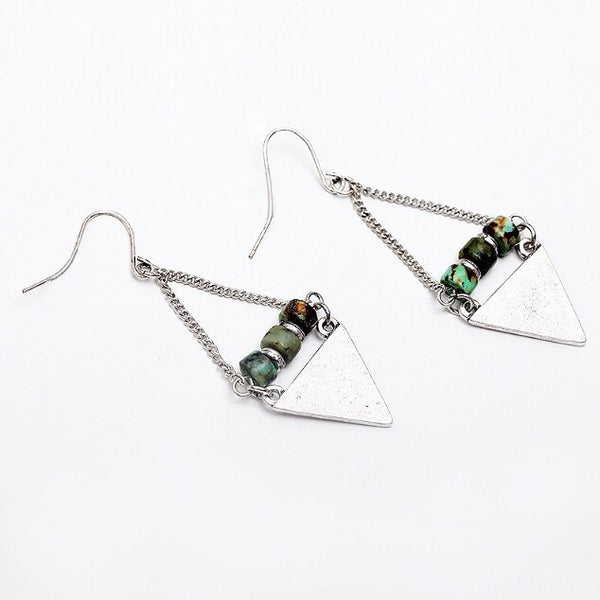 Tahiti Triangle Earrings