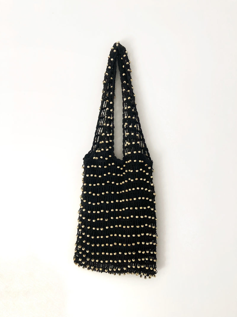 Balian Beaded Crochet Bag