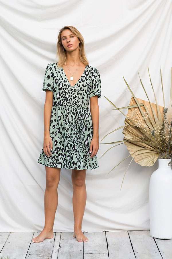Sage Wildling Dress (PRE ORDER)